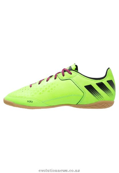 Adidas Men's Ace 16.3 CT Indoor Football Shoes | Solar Green/Core Black/Shock Pink