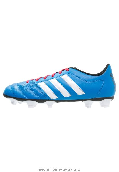 Adidas Men's Gloro 16.2 FG Football Boots | Shock Blue/White/Shock Red