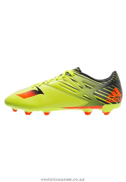 Adidas Men's Messi 15.3 Football Boots | Semi Solar Slime/Solar Red/Core Black