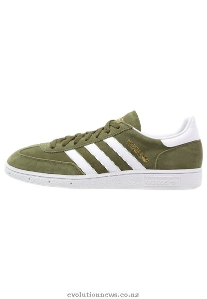 Adidas Originals Women's Spezial Trainers | Dust Green/White/Crystal White